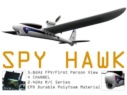 Hubsan Spyhawk Fpv Rc Plane & 3.5 Inch Lcd Monitor/Controller Rtf!!