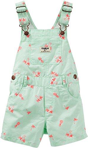 oshkosh-bgosh-kurze-latzhose-shorts-80-86-grun-palme-madchen-girl-pant-hose-baby-us-size-24-month