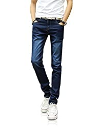 Demon&Hunter YOUTH Series Men's Skinny Slim Jeans DH8048(35)