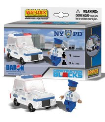 NYPD 55 Pc Construction Set