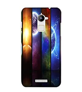 COOLPAD NOTE 3 LITE PLANETS Back Cover by PRINTSWAG