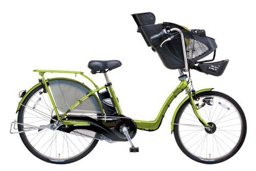 Panasonic(パナソニック) 電動自転車 2013年モデル ギュット DX [26インチ・内装3段変速・着せ替えシートカバー付き・13.2Ahバッテリー] カラー:マットピスタチオ BE-ENMD635