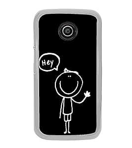 Cute Cartoon 2D Hard Polycarbonate Designer Back Case Cover for Motorola Moto E2 :: Motorola Moto E Dual SIM( 2nd Gen) :: Motorola Moto E 2nd Gen 3G XT1506 :: Motorola Moto E 2nd Gen 4G XT1521