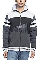 Maniac Mens Fullsleeve Hooded Sweatshirt