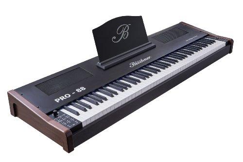 Blüthner PRO-88 e-Klavier Nussbaum Stagepiano (Polyphonie: 144 Stimmen, 88 Tastenanzahl, MIDI, USB)