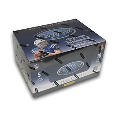 1 (One) Box of 2012 Panini Certified Football Cards: HOBBY Box NFL Trading Cards