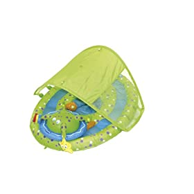 "Baby Pool Shade Float - Tropical - Intex Recreation - Toys ""R"" Us"