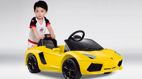 Under License Lamborghini Aventador Battery Kids Ride On Car Electric Childrens Toy W/Remote Licensed Power Wheel With Key For Start New Model
