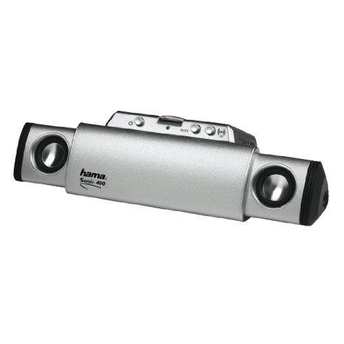 Hama Notebook Lautsprecher-System Sonic Mobil 400 Alu
