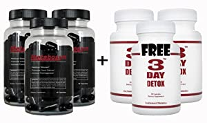 Metabosyn 3 Pack And 3 Free 3 Day Detox - Diet Weight Loss Metabolism Booster Pill - Lose Weight Fast from Metabosyn