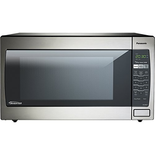 Panasonic NN-SN952-S Stainless Steel Genius Counter Top/Built-In Microwave Oven with Inverter Technology, 1250-watt