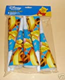 30 x Disney Party Horns, Blowers - Winnie The Pooh