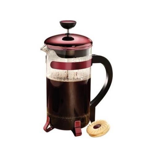 Buy Discount Primula Classic Coffee Press 8 cup - Metallic Red
