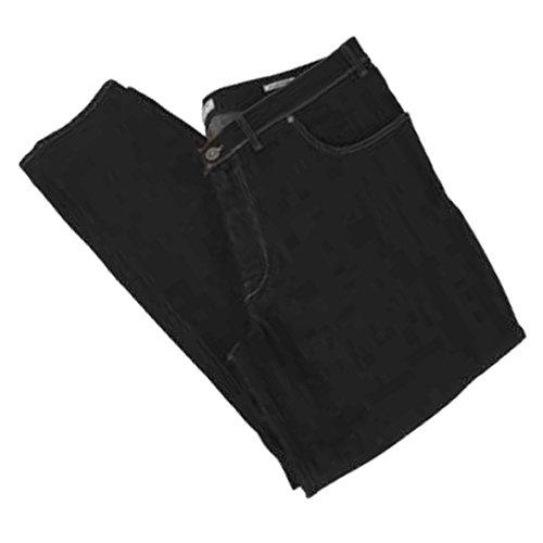 Pantalone jeans taglie forti uomo Maxfort 2200 stretch - Nero, 76 GIROVITA 152 CM