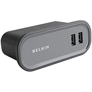 Belkin 7 Port Desktop High Speed USB 2.0 Hub with Power Supply $13.1