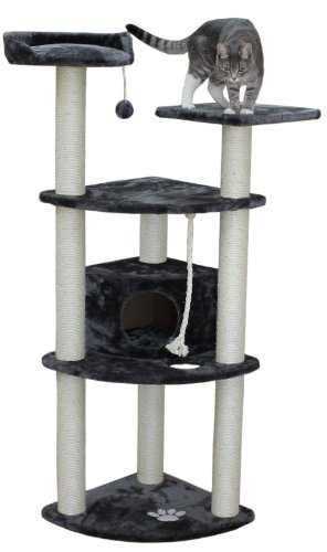 Kitty Mansions Toronto Cat Tree, Grey
