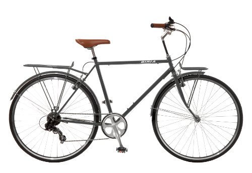 City Bike , Commuting bicycle 700C , Grey , 7 speed Shimano, Men by Biria