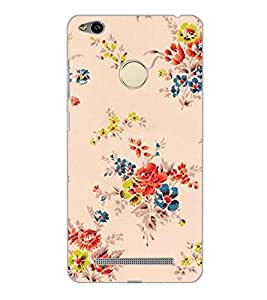 XIAOMI REDMI 3S PRIME FLOWERS Back Cover by PRINTSWAG