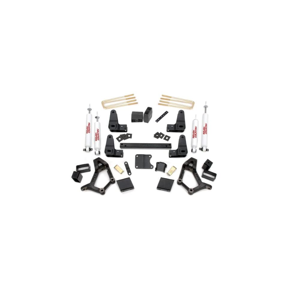Rough Country   733.20   4 5 inch Suspension Lift Kit w/ Premium N2.0 Shocks