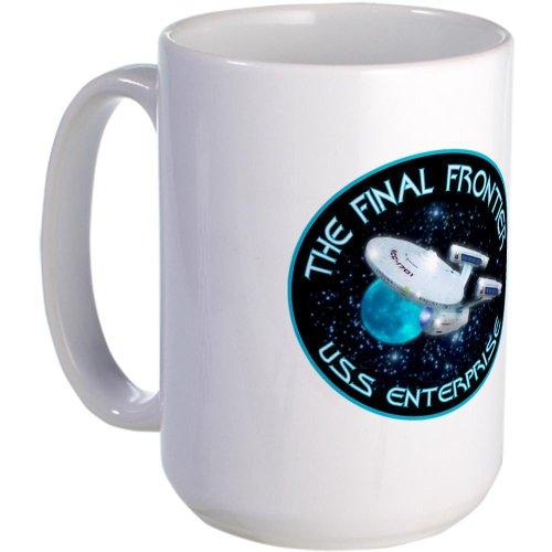 Star Trek Enterprise Large Mug Large Mug By Cafepress