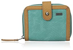Roxy Small Dunes Wallets, Creme De Menthe, One Size