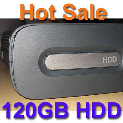 120Gb Hard Disk Drive Hdd For Microsoft Xbox 360 *New*