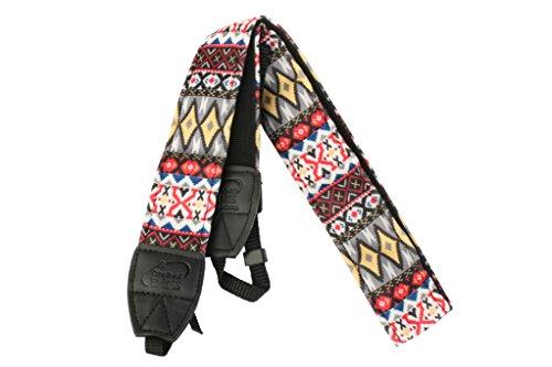 Aestar Vintage Universal Durable Colorful Soft Camera Neck / Shoulder Strap Cotton Yard For Digital Slr Camera - Hmong Style