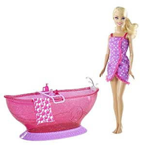 Barbie Hot Tub and Barbie Doll Playset