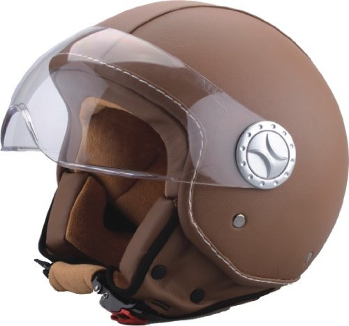 bhr-50185-demi-jet-casco-cuero-color-marron-talla-l-59-60-cm