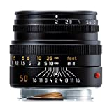 Leica M-System Lens 50mm f/2.0 Summicron Black USA