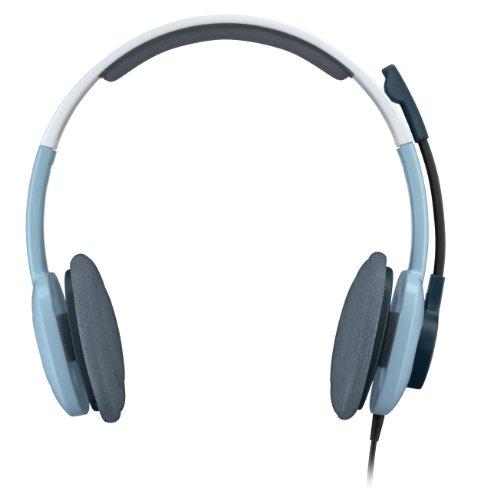 Logitech H250 Stereo Kopfhörer eis blau