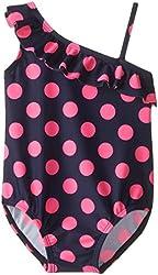 Osh Kosh Baby Girls' Pink Dot 1 Piece