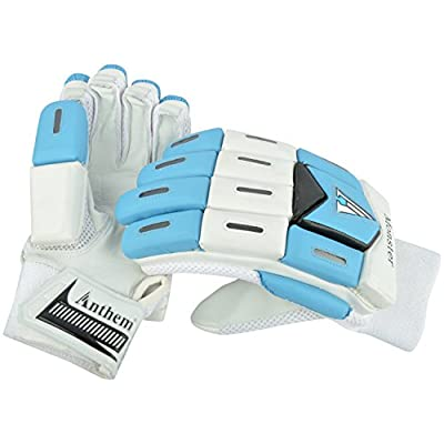 Anthem Monster Cricket Batting Gloves (Full Size, White)