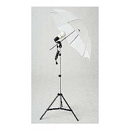 JTL SL-45 Basic AC Strobe Kit, AC Slave Strobe & Umbrella Outfit, Guide number 90, ISO 100 @ 10\'.