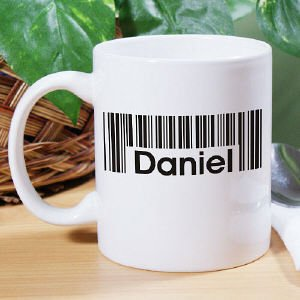 Barcode Name Coffee Mug