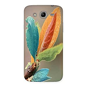 Unicovers Colorful Leafs Back Case Cover for Galaxy Mega 5.8