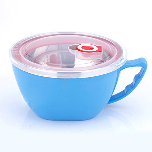 coffled stainless steel bento lunch box double lids food storage container with anti scalding. Black Bedroom Furniture Sets. Home Design Ideas