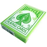 Bicycle Cards Poker Size Reverse Printed Pastel Greenby Bicycle