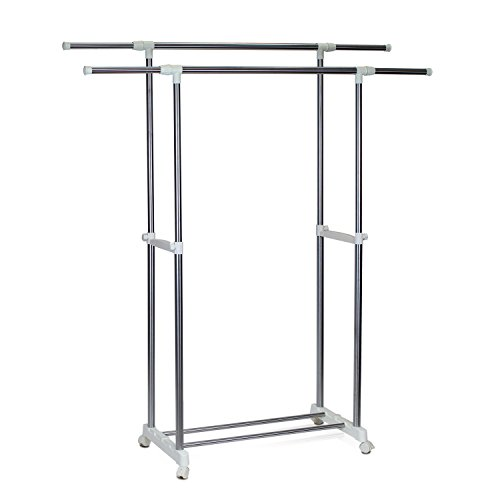 Furinno Fnbk-22086 Yijin Heavy Duty Dual Level Retractable Rolling Drying Rack front-479912