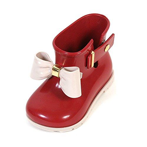 MINI MELISSA - Stivaletto rosso, Stivaletto da pioggia rosso, realizzato in plastica MELFLEX, una gomma profumata, biodegradabile ed ecologica, Bambina-21