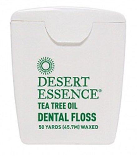 Desert Essence: Tea Tree Oil Dental Floss, 50 Yards front-58551