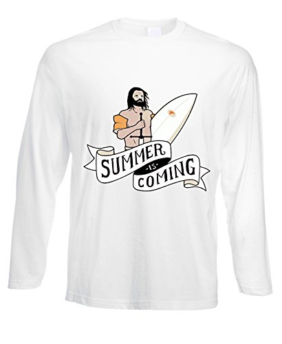 Tshirt a maniche lunghe Summer is coming - Game of thrones - in cotone by Fashwork