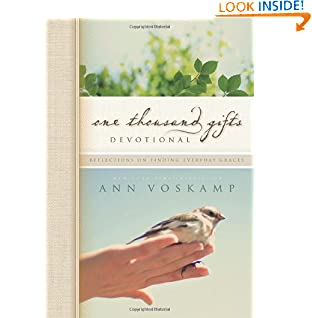 Ann Voskamp (Author)  (225)  Buy new:  $14.99  $8.46  113 used & new from $3.80