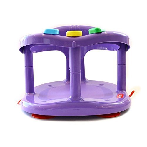 babycare bath tub support ring purple anti slip baby seat dealtrend. Black Bedroom Furniture Sets. Home Design Ideas