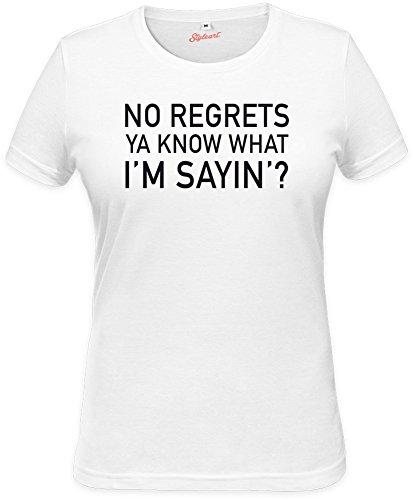 no-regrets-ya-know-what-im-sayin-slogan-womens-t-shirt-xx-large