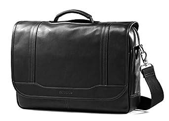 Samsonite Durham Colombian Leather Briefcases Black