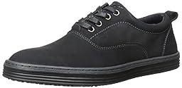 Steve Madden Men\'s Witton Fashion Sneaker, Black, 13 M US