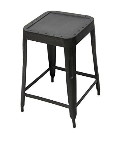 CDI Furniture Medium Industrial l Stool, Grey