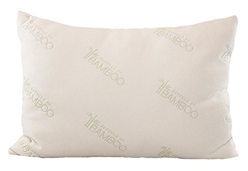 Bamboo Pillow Most Comfortable Alternative Down