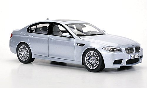 BMW M5 (F10), met.-silver blue , 2012, Model Car, Ready-made, Paragon 1:18 (Bmw M5 Model compare prices)